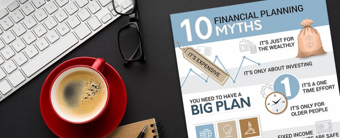 Financial Planning Myths Infographic