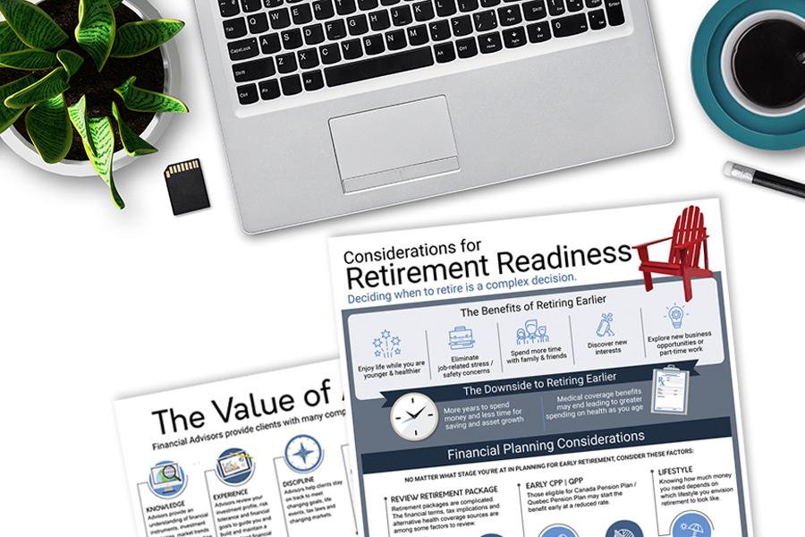 Retirement Readiness Infographic