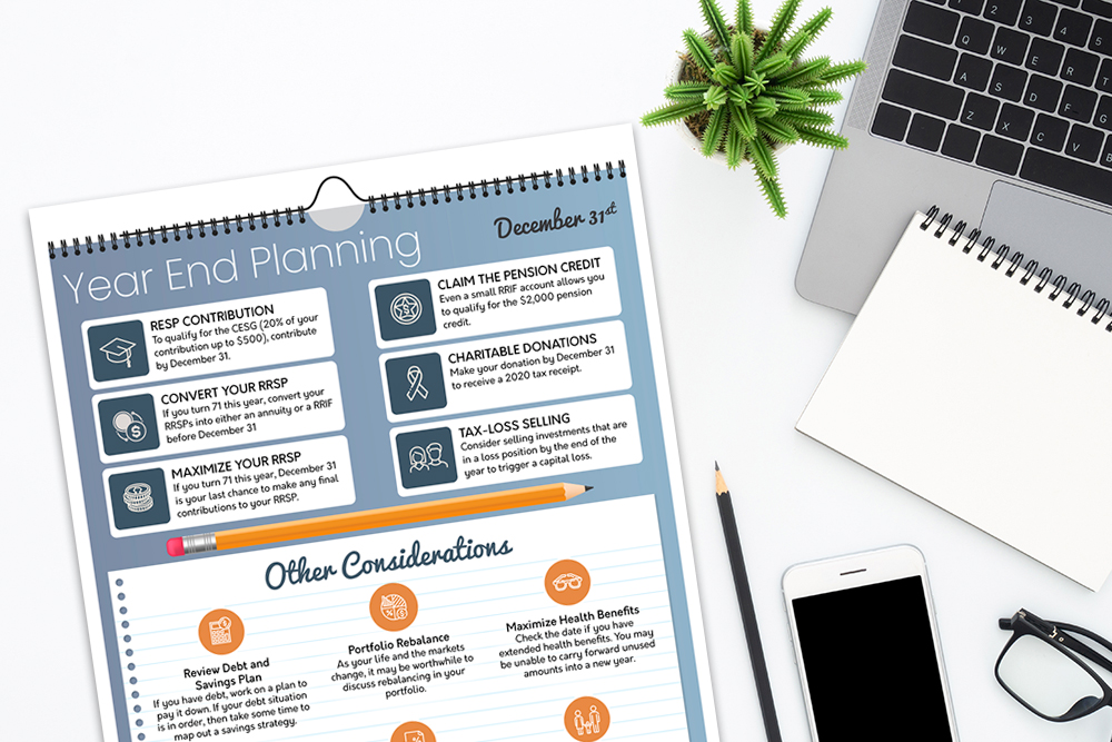 Year End Planning Infographic